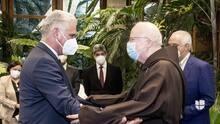 Arzobispo de Boston pide a Díaz-Canel que libere a los detenidos por protestas en Cuba