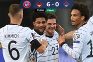 Resumen   Alemania le pasó por encima a Armenia con doblete de Gnabry