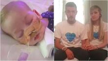 Bebé británico al que un juez ordenó desconectar no podrá viajar a EEUU