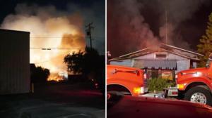 Un incendio en el condado de Tulare deja a 13 personas desplazadas