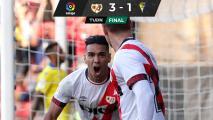 ¡Tigre arrollador! Falcao suma su tercer gol seguido con Rayo Vallecano