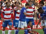Oswaldo Alanís juega todo el partido en la dolorosa derrota del Oviedo ante el Granada