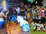 Jugadores de Boca Juniors y policía se enfrentan tras eliminación en Libertadores