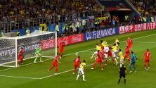 Clases de táctica fija: los maestros analizaron el gol de Yerry Mina ante Inglaterra en 3D
