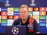 Koeman señala que el Barcelona no está a la altura para competir