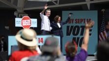 Líderes demócratas en California se enfocan en el voto hispano para evitar que el gobernador Newsom salga del cargo