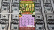 Hombre de Florida gana $2,500 a la semana de por vida con el raspadito de la Lotería