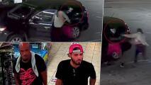 Hombre pelea para que no le roben su carro en Houston
