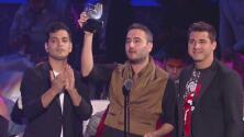 Reik dedicó su victoria en Premios Juventud a toda la comunidad latina en los Estados Unidos