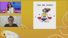 Exhibición de caricaturas alusivas a la pandemia del covid-19
