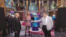 Lili y Raúl reciben tremendos regalos de parte de Mr. Bling con motivo del 23 aniversario del show