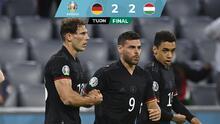 ¡Agónico! Alemania rescata empate ante Hungría y evita el desastre