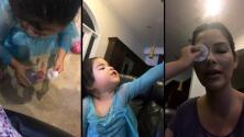 Baby Giulietta de nuevo al rescate: ahora salva a Ana Patricia del maquillaje
