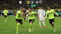 Resumen | ¡Doblete de Hazard! Thorgan da pase al Dortmund en la Pokal