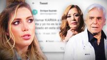 """Enrique Guzmán pide perdón por decir que la hermana de Frida Sofía murió por """"karma"""" y Sylvia Pasquel apoya a su sobrina"""