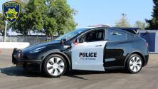 Policía en Silicon Valley estrena su segunda patrulla Tesla totalmente eléctrica