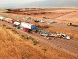 """""""Nadie podía ver"""": al menos siete muertos deja un choque múltiple debido a una tormenta de arena en Utah"""