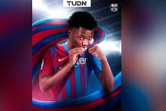 ¡Perla amarrada! Ansu Fati renueva con Barcelona hasta el 2022
