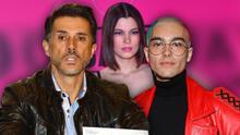 """A Sergio Mayer Mori le parece """"ridículo"""" que su papá diga que fue abusado sexualmente por Natália Subtil"""