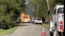 Reportan incendio en una tubería de gas en Friendswood, al sureste de Houston