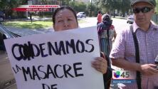 Manifestaciones en Houston por estudiantes desaparecidos