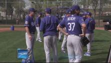 Entrenamientos primaverales: Entrevista con Lanzador de los Dodgers