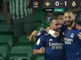 Real Madrid derrota al Real Betis y se coloca en la cima de la clasificación