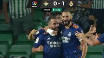 Real Madrid vence a domicilio al Real Betis y amanece en la cima