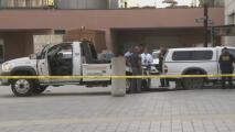 Detienen a un hombre que intentaba ingresar fuertemente armado a un edificio federal en Los Ángeles