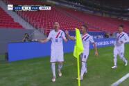 ¡Lo grita Paraguay! Miguel Almirón marca el 2-0 desde el punto penal