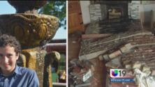 Le cayó una chimenea encima durante el terremoto en Napa