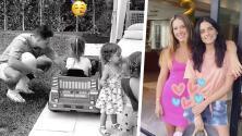 'Chicharito' y Sarah Kohan se dejan ver juntos en la fiesta de su hijo: así los expuso Aislínn Derbez