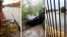 Inundaciones, apagones y deslaves; los daños causados por las tormentas en California