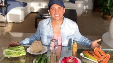 Sin inflamación y bien hidratados: la lista de alimentos saludables que recomienda Chabán para combatir el estrés