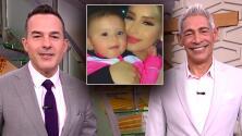 """""""Un ojo marrón y el otro azul"""": Carlos y Johnny quedaron encantados con la linda hija de El Dasa"""