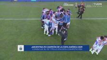 ¡Todos van con Messi! Argentina celebra el título de la Copa América