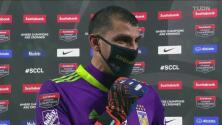 """Nahuel Guzmán describe como """"algo único"""" ganar el título de Concacaf"""