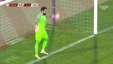 ¡GOL!  anota para Serbia. Dusan Tadic