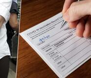 """""""Tenemos varios casos"""": Investigan falsificación de tarjetas de vacunación"""