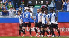 Atlético de Madrid perdió el invicto con el sotanero de LaLiga