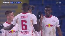 ¡Ya lo gana el Leipzig! Poulsen pone el 0-1 sobre el Istanbul Basaksehir