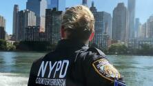 Por cielo, mar y tierra: así es como la unidad antiterrorismo vigila la seguridad de Nueva York