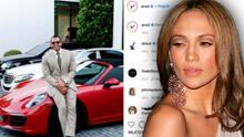 A-Rod posa con el Porsche que le regaló a JLo y sus seguidores preguntan: ¿se lo quitó a su ex?
