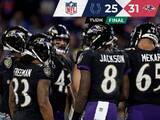 Lamar Jackson tuvo un juego descomunal en el triunfo de Ravens