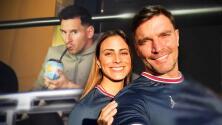 """Julián Gil no vio jugar a Lionel Messi en París, pero """"está volado"""" porque lo pudo saludar"""