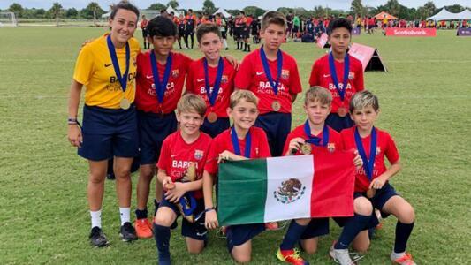 Niño mexicano ingresa a la 'Masía estadounidense'