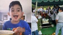 Dan el último adiós al niño de 6 años que murió tras desaparecer en Panama City Beach