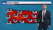 Este es el tiempo que se espera en Puerto Rico este lunes