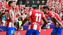 El Atlético gana con lo justo y sigue con marca perfecta en LaLiga