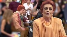En 76 años no lo hizo: Talina Fernández se tatúa por primera vez y lo hace en vivo